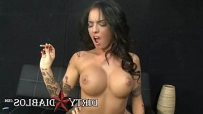 big cock   pornstar   riding cock   smoking