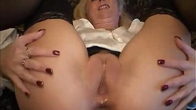 ass drilling   german   mature