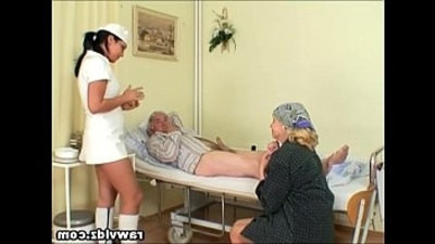 naughty  nurse  old and young