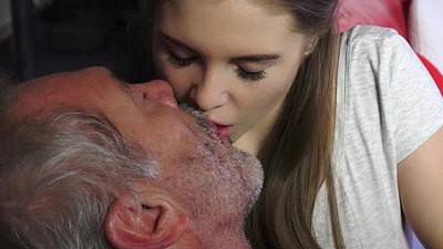 grandpa   horny girls   old and young   russian   sucking   young