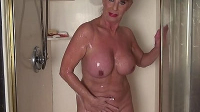 asian   mature   shower   woman