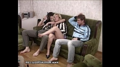 blonde   stepmom   studs   threesome   young