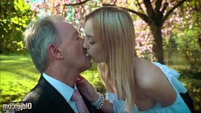 blonde  cumshot  fucking  old and young  swallow  young