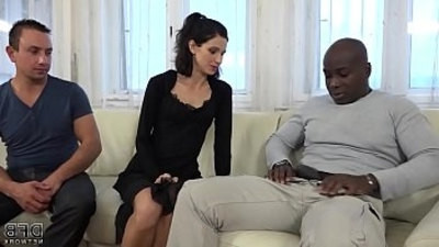 black  cuckold  fucking  licking  pussy  wife